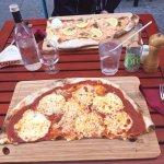 Pizza saumon und pizza thon