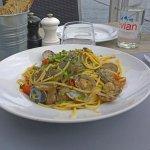 Excellents spaghettis aux palourdes