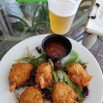 Coconut Battered Shrimp with Thai Chili Sauce