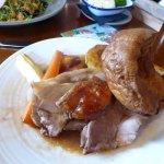 Huge roast pork lunch