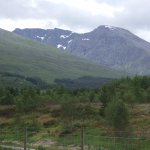 North face of Ben Nevis from the car park