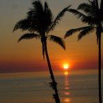 Sunrise at Onna Mission