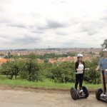 View of the City from the Segways