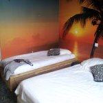 chambres comprenant 2 lits (160 + 90).