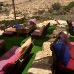 Вот такая симпотичная ресторация посреди пустыни 🇮🇱❤️✌🏻️