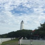 Ocracoke lighthouse in the morning