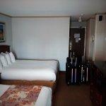 2 x Queen beds in main part of suite