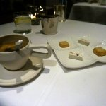 Espresso and PETIT FOURS