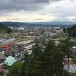view to Takayama from room