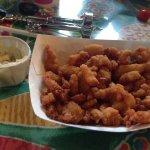 Mariscos empanados