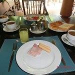 Frühstück ist reichhaltig
