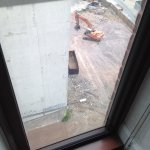11th floor looking at possible construction next door