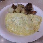 A very bland omelette