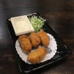 Kaki Fry - deep fried oyster with tartar sauce