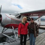 Many thanks to this special lady for sharing Alaska's beauty with visitors.