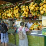 My favorite Lemondade Stand in Capri (behind The Qusissana Hotel)