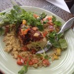 Tequila Lime Chicken - the quinoa was amazing - sadly, the chicken should not have crossed the r