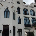Modernist exterior of Hotel Diana