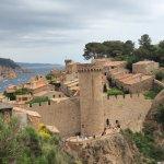 Tossa de Mar castle.UN World Heritage site thoroughly deserved.