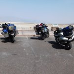 Our Scoots at Badwater