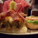 THE 16oz Bacon Cheeseburger