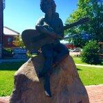 Dolly Parton Statue-billede