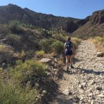 Hike up to the Aztec caves
