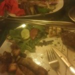 Dreadful. A mixed grill of various meat fats!!!