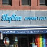 Skyline deli across the road open 24/7