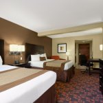 The Country Inn & Suites sleeping room