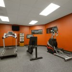 The Country Inn & Suites fitness center