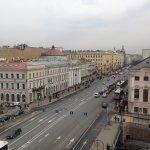 Blick auf Nevski Prospekt