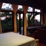 Quaklity and Comfortable King Bed Looking out toward sunset