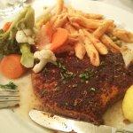 Grilled Tuna, Medium rare