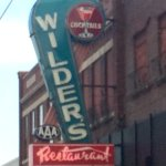 Original Wilder's sign