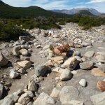 otra parte dificil del sendero, mucha..mucha piedra