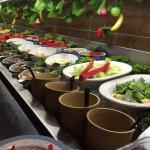 Salad Bar. Take prepared or create your own