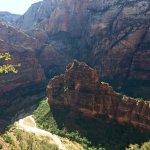 Zion Canyon Scenic Drive Foto
