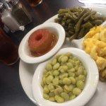 Delicious - 4 veggie plate.