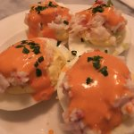 Lobster deviled eggs from Hank's Oyster Bar