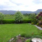 garden and Benbulben view