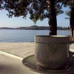 View from beach bar/restaurant