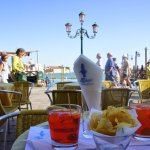 Aperol Spritz on the Grand Canal
