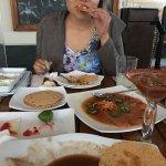 Tamarind Aguachile so good!! Tostadas, quesito cabanna taco. Highly recommend :)