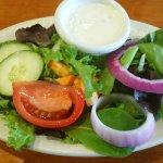 Salad w/an amazing ranch dressing!