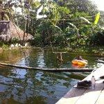 La piscina natural es realmente relajante y genial, una experiencia muy agradable.