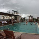 Rooftop pool at Rambuttri Village Hotel