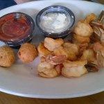 JUMBO shrimp dinner. HA!