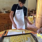 Our day making pasta and rabbit - a wonderful, warm and generous experience.