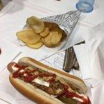 hotdog & potato